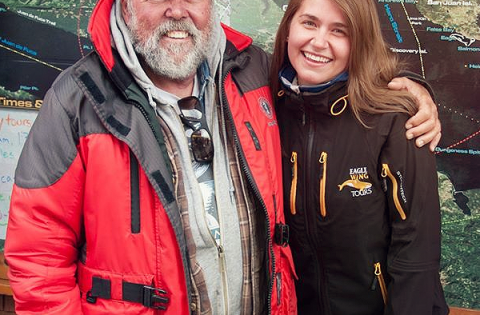 Ken Balcomb whale researcher tour