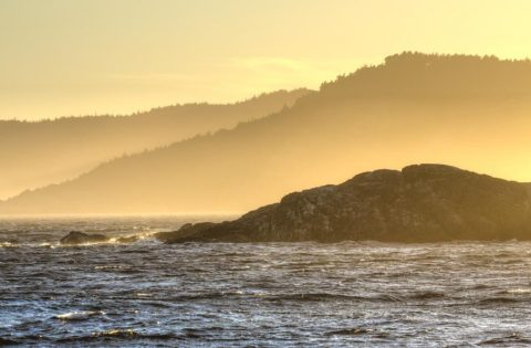 Salish Sea at Sunset