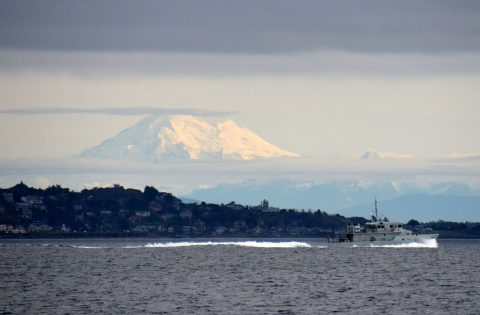 Mount Baker & the local Navy