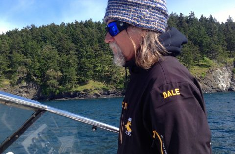 Captain Dale the whale whisperer... you should see his lucky whale socks