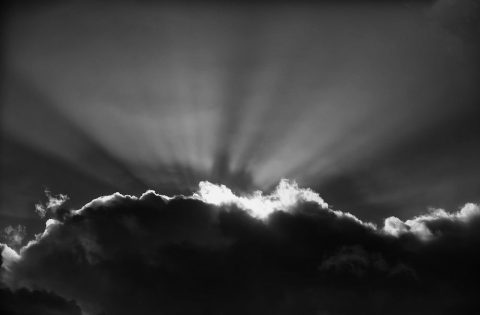 A monochrome sunset by Clint Rivers