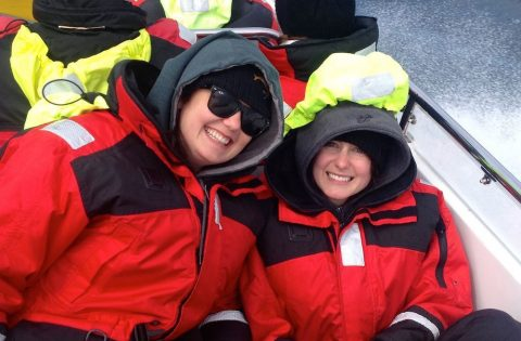 We'll keep you warm and (mostly!) dry in our complimentary float coats, splash pants, gloves and hats