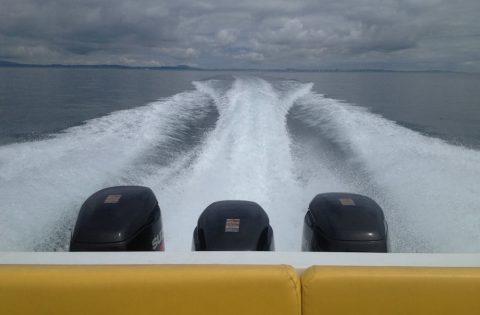 Serengeti cruising with triple engines
