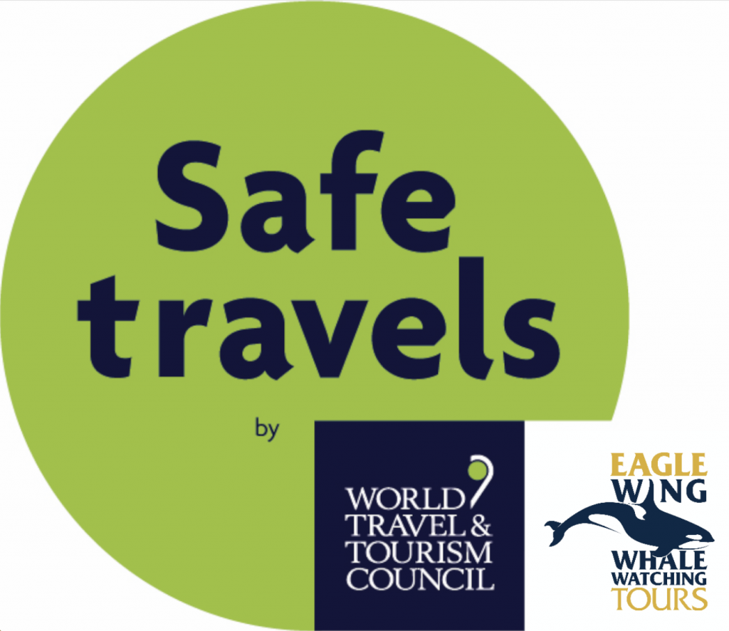 """Eagle Wing Tours certified by World Travel & Tourism Council as a """"safe travels"""" activity."""
